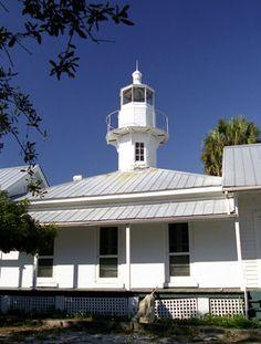 Lighthouse - Cedar Keys (Seahorse Key), Florida, USA