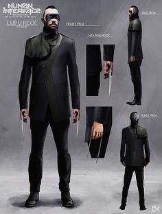 ArtStation - Human Interface - Character concept art ( Lupu Reck ), Darius Kalinauskas