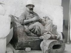 Brancusi always wore wonderful flax linen clothes from Roumania.