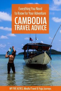 Cambodia Travel Advice – Everything to Know Before Visiting Cambodia Cambodia Itinerary, Cambodia Beaches, Cambodia Travel, Travel Advice, Travel Guides, Travel Tips, Koh Tao, India Travel, Brunei