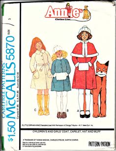 1970s ANNIE Clothes Line Pattern  Coat with by ShellMakeYouFlip