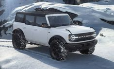 Ford Bronco 4 Door, Classic Ford Broncos, Mode Of Transport, Big Daddy, Future Car, Dream Cars, Vehicles, Dreams, Futuristic Cars