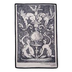 Renaissance Ornament Tea Towel, Sirens