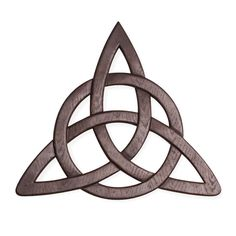 """Celtic Trinity Knot Wall Hanging and Card 13 x 12"""", $16"""