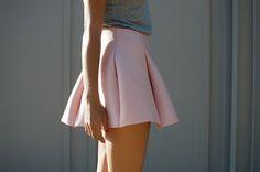 DIY Scuba Mini Skirt  #DIY #nastiordie