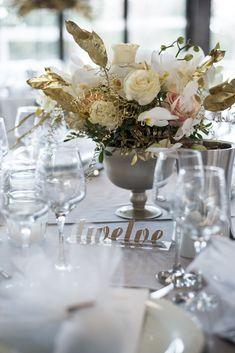 Ideas for wedding reception centerpieces blush mercury glass Trendy Wedding, Floral Wedding, Our Wedding, Destination Wedding, Wedding Flowers, Dream Wedding, Wedding Dresses, Low Centerpieces, Wedding Reception Centerpieces