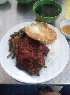 Cơm Tấm Loan Pork, Foods, Meat, Drinks, Kale Stir Fry, Food Food, Drinking, Food Items, Drink