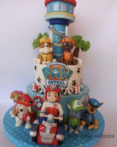 Paw patrol cake - Cake by Branka Vukcevic
