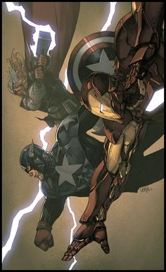 Charge by ~luxun on deviantART (Avengers)