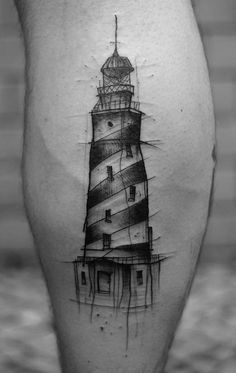 Incorrect but clear lines are what makes this tattoo interesting and inviting. Here we can see how simple image can look very nice, without superfluous colors and details.