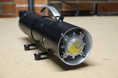 Mega Torch - the Ultimate Guide : 12 Steps (with Pictures) - Instructables Led Projects, Electrical Projects, Led Shop Lights, Shop Lighting, Electronics Components, Electronics Projects, Electronics Gadgets, Esp8266 Arduino, Learn Robotics