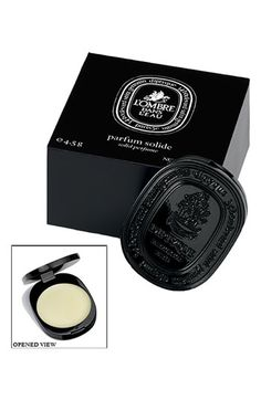 What a gorgeous little addition to your handbag.  Grab one of these as Diptyque has a fabulous travel size hard parfum in a few varities.  Its great to touch up on a little scent and always have it ready no matter what the situation!  A little decadent 'yes' but we are for sure worth it ladies. x