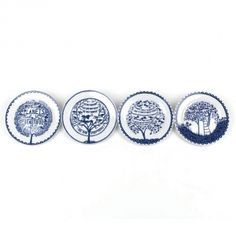 Rob Ryan Set of Four Plates Four Seasons | Tableware | Home & Interior | Shop by Product | Wild & Wolf