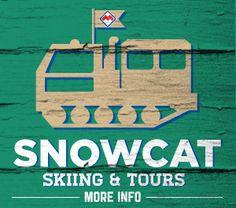 Powder Mountain Resort Snowcat rides, $18/ride