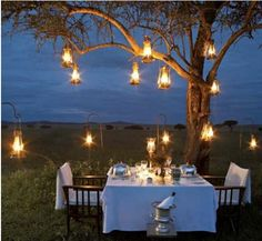 evening lights... those lanterns we saw were so cheap
