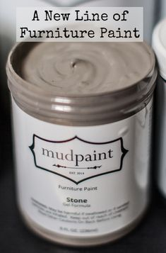 Mudpaint - vintage furniture paint - great for antiquing and distressing
