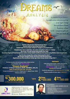 Wanna know the meaning of your dreams? come join us in  #dreamanalysis #seminar @liberainsani #april #event