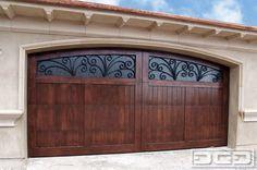 Garage Doors | Mediterranean Revival 04 | Custom Architectural Garage Door