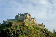 Edinburgh Castle, Edinburgh Scotland  A place I would love to see in person on day.