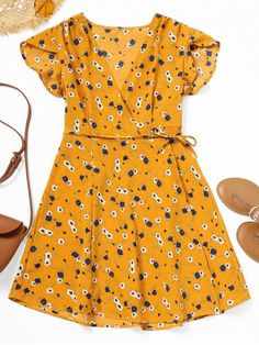 Up to 80% OFF! Floral Print Mini Wrap Dress. #Zaful #Dress Zaful,zaful dress,zaful outfits,black dress,dress,dresses,fashion,fall fashion,fall outfits,winter outfits,winter fashion,dress,long dress,maxi dress,long sleeve dress,flounced dress,vintage dress,casual dress,lace dress,boho dress, flower dresses,maxi dresses,evening dresses,floral dresses,long dresses,party dresses,gift,Christmas,ugly Christmas, New Year 2017, New Year Eve. @zaful Extra 10% OFF Code:ZF2017