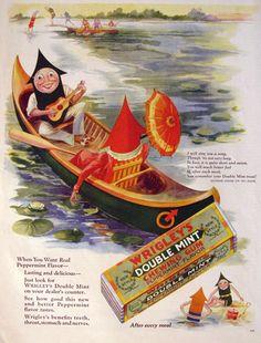 1928 Wrigley Gum Ad