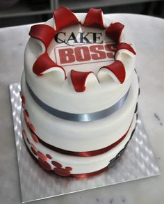 A cake for a cake Boss