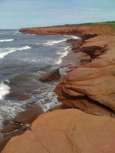 Red Cliffs, Prince Edward Island, Canada - my favourite! Oh The Places You'll Go, Places Around The World, Places To Travel, Places To Visit, Around The Worlds, Pei Canada, Canadian Travel, Atlantic Canada, Prince Edward Island