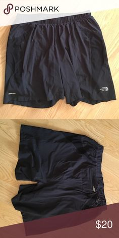 North face black shorts I bought these from posh a while ago and I just don't wear them like I thought I would. Great conduction and super cute! North Face Shorts