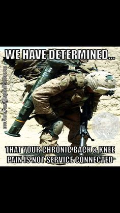 "Recently, I had a civilian ortho Doctor ask if I had been airborne when I was in the army.  Puzzled ( that was 45 years ago) , I told him that I was.  He said the he could tell, because I had what he called ""paratroopers knees "" !"