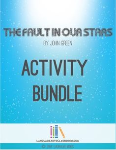 the fault in our stars literary analysis
