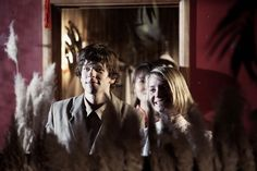 Jesse Eisenberg and Mia Wasikowska in THE DOUBLE