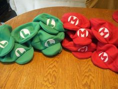 Household How To: Tutorial - Making Mario Bros Hats