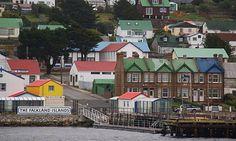 Puerto Argentino - ISLAS MALVINAS ( Port Stanley - FALKLAND ISLANDS).-