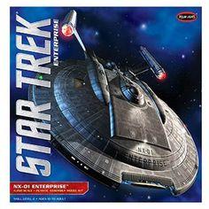 FabGearUSA - Star Trek Enterprise NX-01 1/350 Scale, $99.95 (http://www.fabgearusa.com/star-trek-enterprise-nx-01-1-350-scale/)