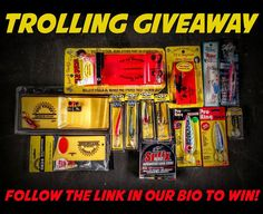 - GIVEAWAY - Follow the link in our bio to enter for your chance to win this package of open water trolling lures and accessories from. If you tag 3 of your fishing buddies in a comment below we'll give you THREE extra entries.  Products via @millsfleetfarm  #YouTackle #walleye #walleyefishing #trolling #trout #greenbay #fishingtackle #tacklebox #fishinglures #lures #bigfish #fishing #catchoftheday #crappie #crappiefishing #panfish #perch #yellowperch #pike #icefishing #exploreminnesota Walleye Fishing, Ice Fishing, Fishing Tackle, Fishing Tips, Fishing Lures, Tackle Box, Open Water, Big Fish, Green Bay