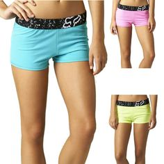 2015 Fox Racing Womens Astounding Gym Athletic Sun Summer Casual Shorts