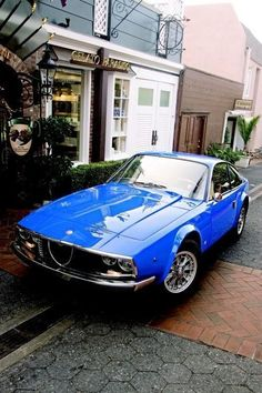 Alfa Romeo 1600 Zagato I believe. BB #alfaromeozagato