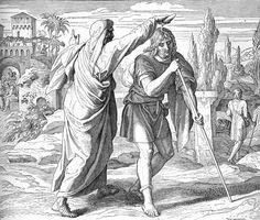 Bilder der Bibel - Saul zum König gesalbt - Julius Schnorr von Carolsfeld