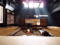 囲炉裏  japanese fireplace