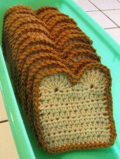 omg i love crochet food! Crochet Diy, Crochet Amigurumi, Crochet Food, Crochet Kitchen, Love Crochet, Crochet For Kids, Crochet Crafts, Yarn Crafts, Scarf Crochet