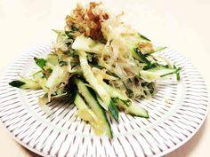 きゅうりと薬味の和風サラダ