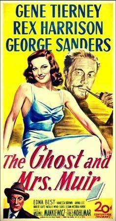 An advertisement for The Ghost & Mrs. Muir (1947)