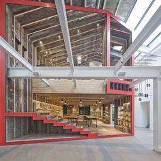 Şangay'da bulunan Camper Mağazası Neri&Hu Design and Research Office tarafından tasarlandı.