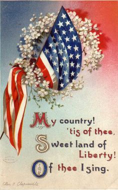 patriotic - I used to sing this at the start of each school day after the pledge (we also had a prayer)