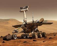 Ein Trend der noch etwas weiter in der Zukunft liegt: Kommunikation durchs All. Martin bloggt heute über die Idee den Mars ans Internet zu bringen.