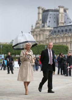 Duchess of Cornwall in Paris
