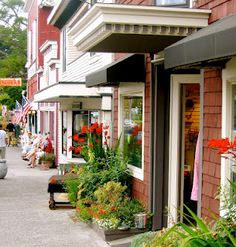 Shops on First Street, Langley, Whidbey Island, WA- I want to go back!