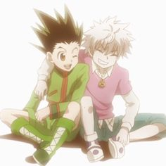 Killua and Gon - Hunter x Hunter