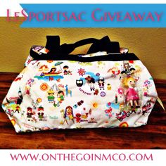 LeSportsac Giveaway Reminder!  Don't forget that we are giving away this Disney It's A Small World LeSportsac purse on the blog!!!  The Molly in the Around the World pattern was not a bag that was initially released, so it's definitely a find!