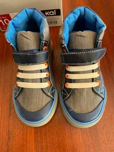d842bb1966bc3a NIB See Kai Run Toddler Boys Andy kids 10 Rubber Sole Velcro Sneakers Dane  shoes